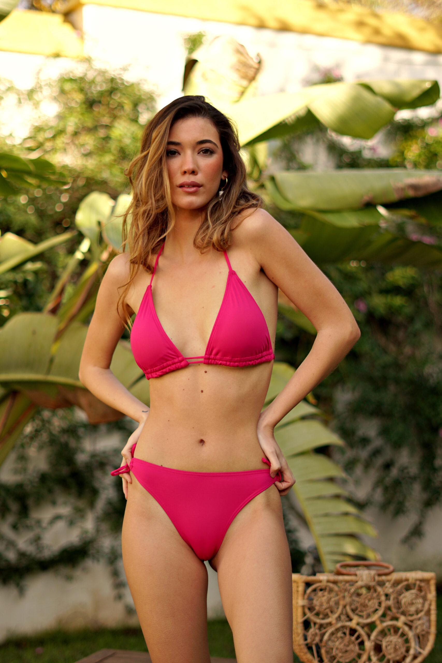 Bikini rosa fucsia